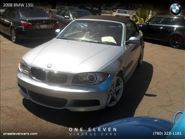 2008 BMW 1 Series for sale in Palm Springs, CA