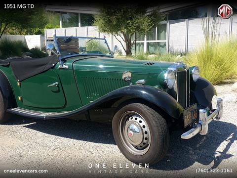 1951 MG TD for sale in Palm Springs, CA