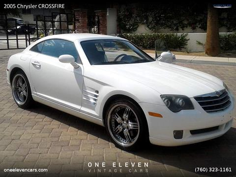 2005 Chrysler Crossfire for sale in Palm Springs, CA