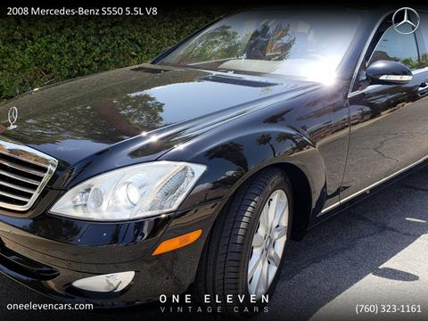 2008 Mercedes Benz S Class For Sale In Palm Springs, CA