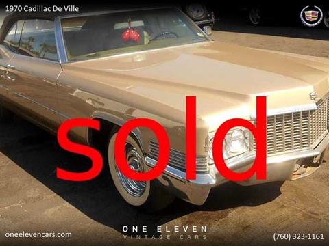 1970 Cadillac DeVille for sale in Palm Springs, CA