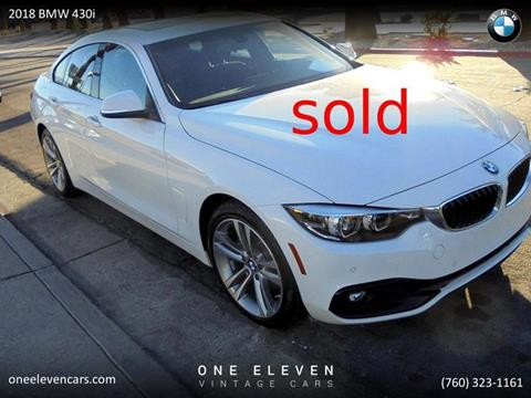BMW Palm Springs >> 2018 Bmw 4 Series For Sale In Palm Springs Ca