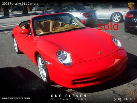 2003 Porsche 911 for sale in Palm Springs, CA