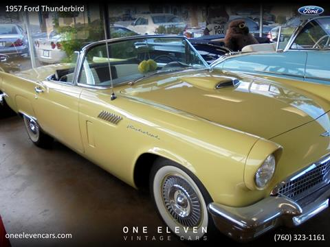 1957 Ford Thunderbird For Sale In Palm Springs Ca