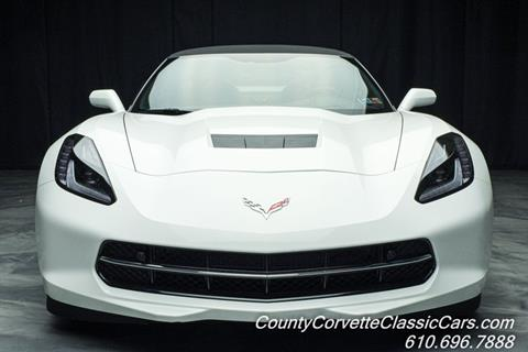 2016 Chevrolet Corvette for sale in West Chester, PA