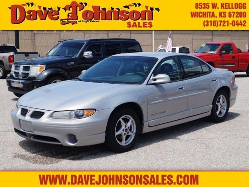 2000 Pontiac Grand Prix Gt In Wichita Ks Dave Johnson Sales