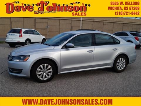 2015 Volkswagen Passat for sale at Dave Johnson Sales in Wichita KS