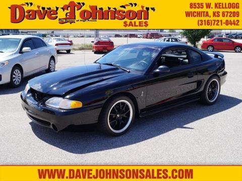 1997 Ford Mustang SVT Cobra for sale at Dave Johnson Sales in Wichita KS