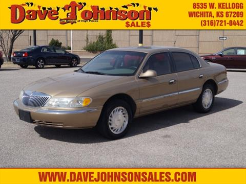 1998 Lincoln Continental for sale in Wichita, KS