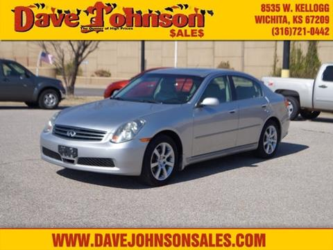 2005 Infiniti G35 for sale at Dave Johnson Sales in Wichita KS
