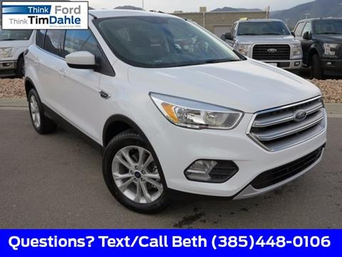 2017 Ford Escape for sale in Spanish Fork, UT