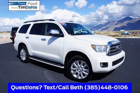 2015 Toyota Sequoia for sale in Spanish Fork, UT