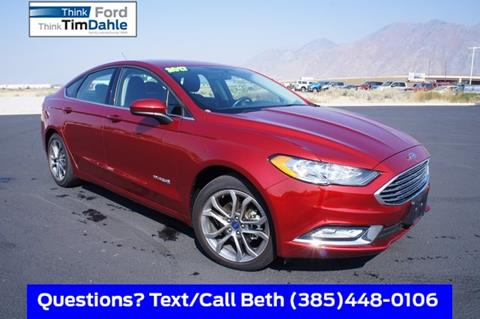 2017 Ford Fusion Hybrid for sale in Spanish Fork, UT