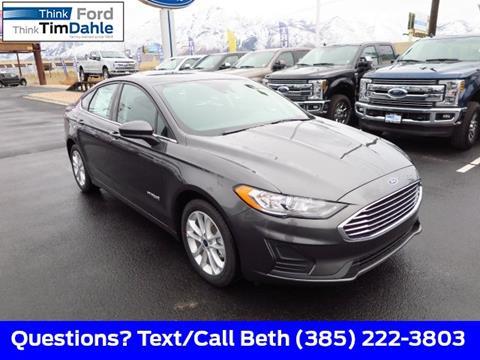 2019 Ford Fusion Hybrid for sale in Spanish Fork, UT