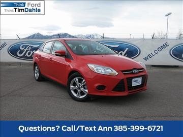 2014 Ford Focus for sale in Spanish Fork, UT