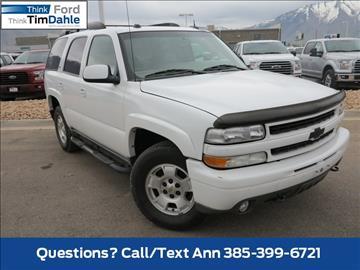 2005 Chevrolet Tahoe for sale in Spanish Fork, UT