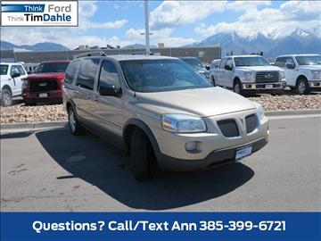 2006 Pontiac Montana SV6 for sale in Spanish Fork, UT