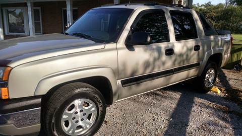 2005 Chevrolet Avalanche for sale in Bishopville, SC