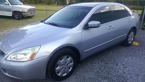 2004 Honda Accord for sale in Bishopville, SC