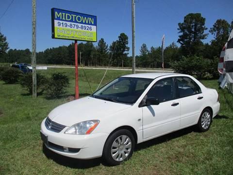 2006 Mitsubishi Lancer for sale in Clayton, NC