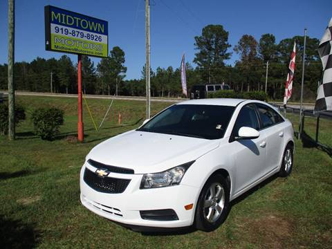 2012 Chevrolet Cruze for sale in Clayton, NC