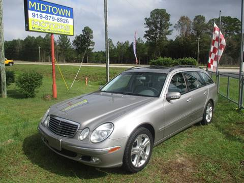 2004 Mercedes-Benz E-Class for sale in Clayton, NC
