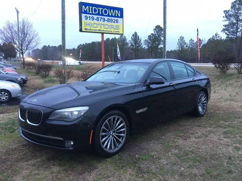 2009 BMW 7 Series 750i In Clayton NC - Midtown Motors Of NC