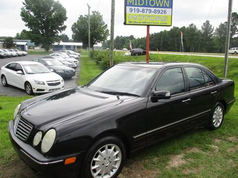 Mercedes Benz Midtown >> Mercedes Benz E Class For Sale In Clayton Nc Midtown Motors Of Nc