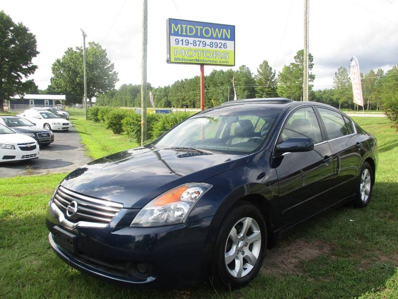 2008 Nissan Altima For Sale At Midtown Motors Of NC In Clayton NC