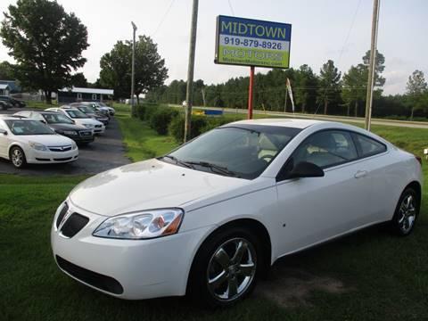 2007 Pontiac G6 for sale in Clayton, NC