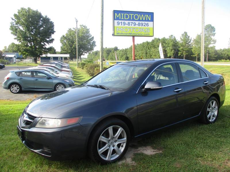 Acura TSX In Clayton NC Midtown Motors Of NC - Acura tsx for sale in nc