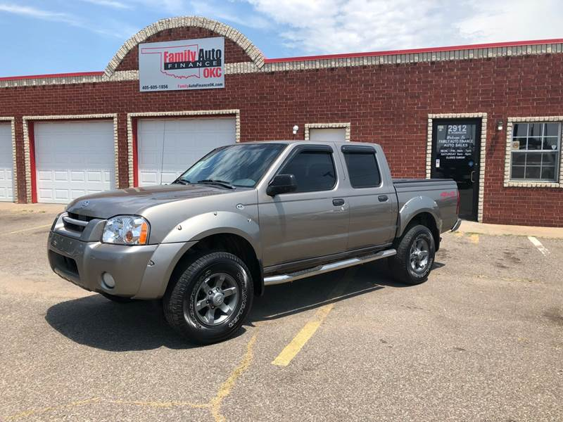 2004 Nissan Frontier For Sale At Family Auto Finance OKC LLC In Oklahoma  City OK