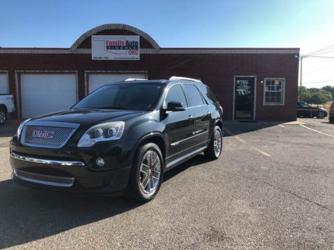 Gmc Acadia For Sale In Oklahoma City Ok Family Auto Finance Okc Llc