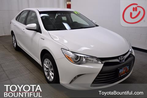 2017 Toyota Camry Hybrid for sale in Bountiful, UT