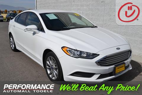 2017 Ford Fusion for sale in Bountiful, UT