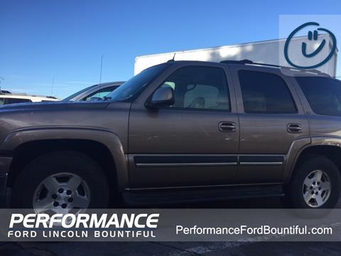 2004 Chevrolet Tahoe for sale in Bountiful, UT