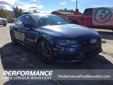 2016 Audi S7 for sale in Bountiful, UT