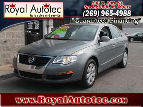 2008 Volkswagen Passat for sale at Royal AutoTec in Battle Creek MI