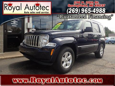 2012 Jeep Liberty for sale at Royal AutoTec in Battle Creek MI