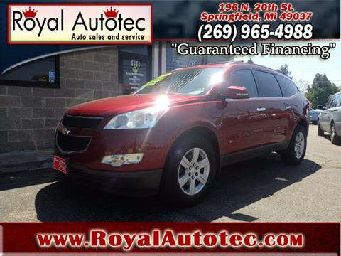 2010 Chevrolet Traverse for sale at Royal AutoTec in Battle Creek MI