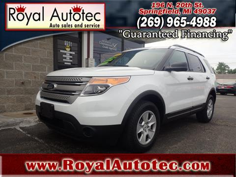 2014 Ford Explorer for sale at Royal AutoTec in Battle Creek MI