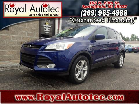 2015 Ford Escape for sale at Royal AutoTec in Battle Creek MI