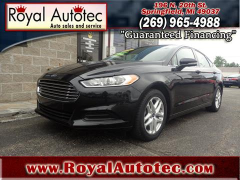 2014 Ford Fusion for sale at Royal AutoTec in Battle Creek MI