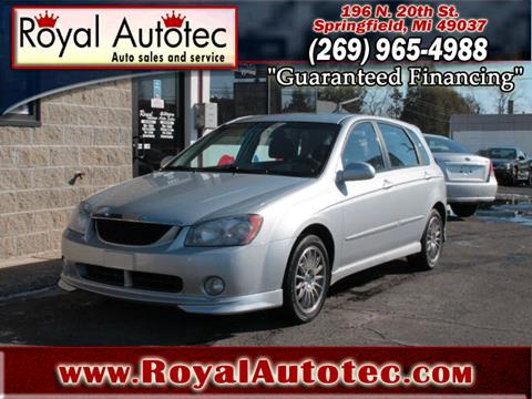 2005 Kia Spectra for sale at Royal AutoTec in Battle Creek MI