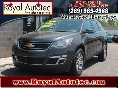2015 Chevrolet Traverse for sale at Royal AutoTec in Battle Creek MI
