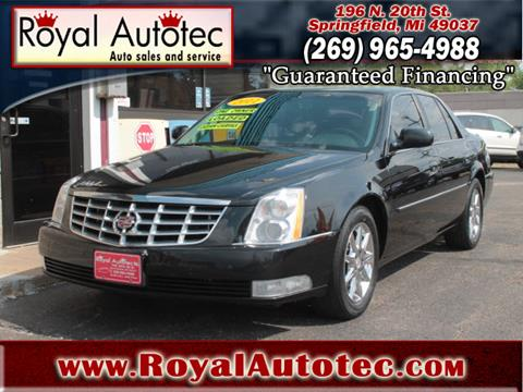 2011 Cadillac DTS for sale at Royal AutoTec in Battle Creek MI
