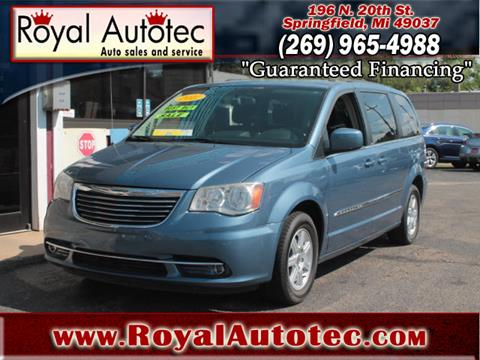2012 Chrysler Town and Country for sale at Royal AutoTec in Battle Creek MI