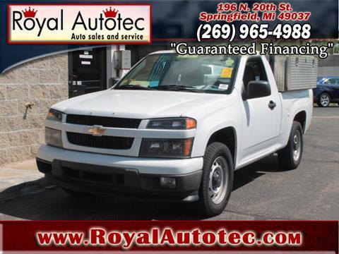 2011 Chevrolet Colorado for sale at Royal AutoTec in Battle Creek MI