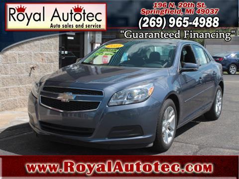 2013 Chevrolet Malibu for sale at Royal AutoTec in Battle Creek MI