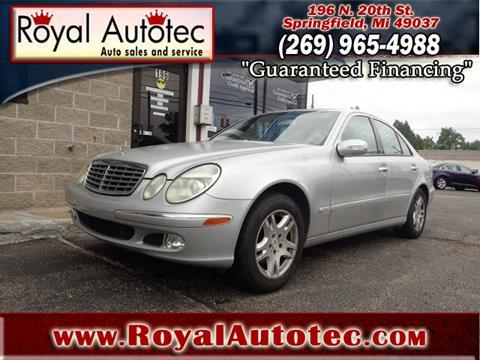 2003 Mercedes-Benz E-Class for sale in Battle Creek, MI